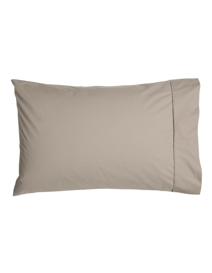 300 TC Superfine Cotton Sheet Set in Mocha image 2
