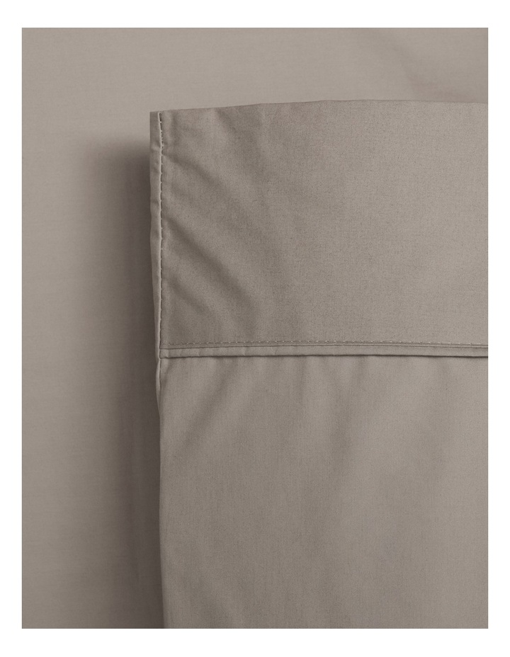 300TC Superfine Cotton Fitted Sheets in Mocha image 1