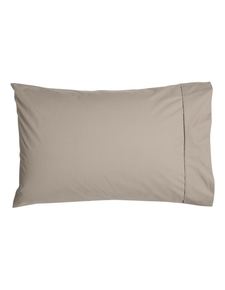 300TC Superfine Cotton Fitted Sheets in Mocha image 2