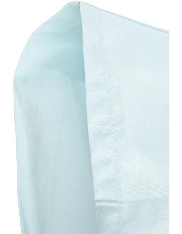 300TC Faded Blue Superfine Cotton U-Shaped Pillowcase image 2