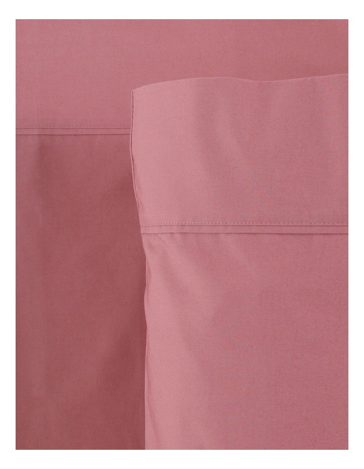 300TC Superfine Cotton Sheet Set in Dusty Rose image 1