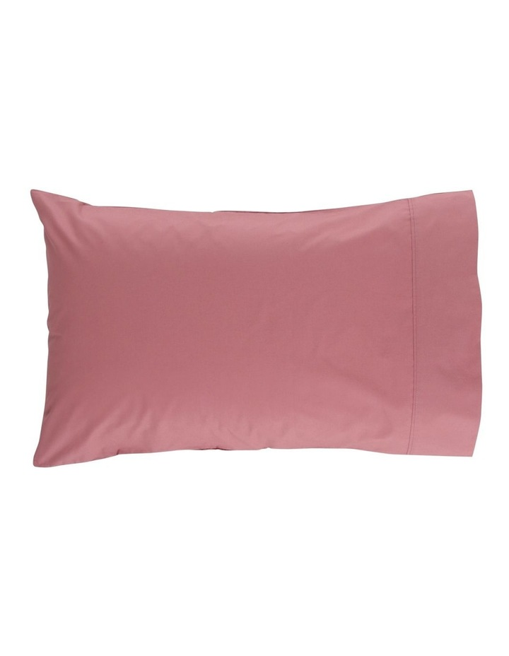 300TC Superfine Cotton Sheet Set in Dusty Rose image 2