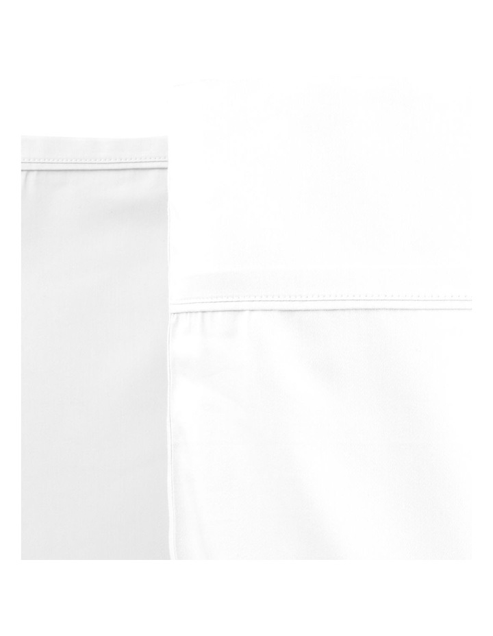 800TC Cotton Rich Sheets in White image 1