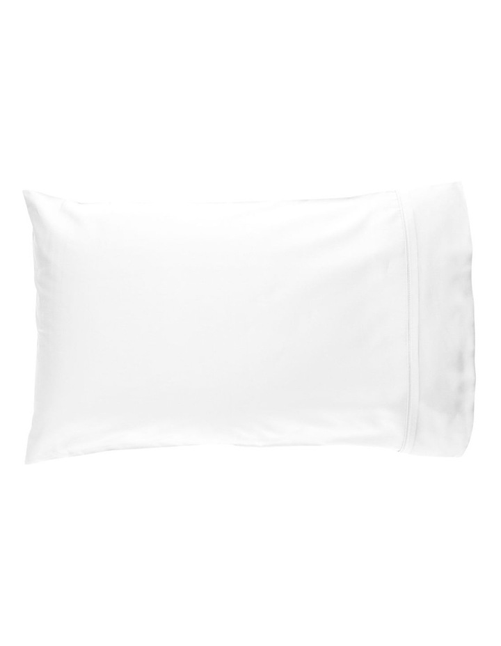 800TC Cotton Rich Sheets in White image 2