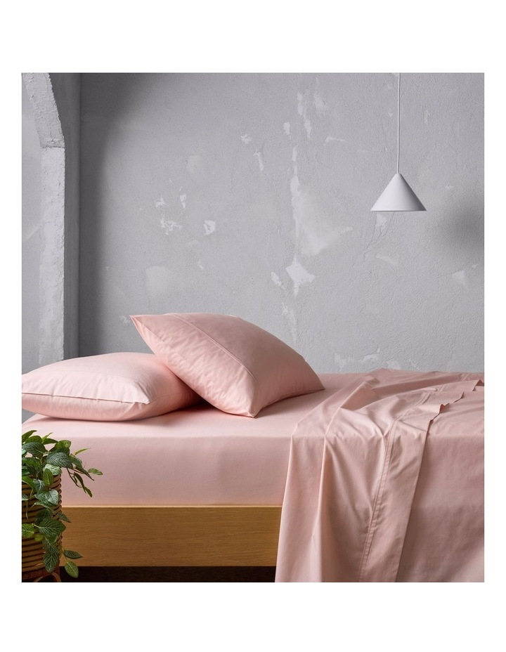 300TC Superfine Sheeting in Pink image 1