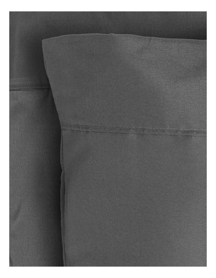 Super Soft Microfibre Sheet Set in Charcoal image 1