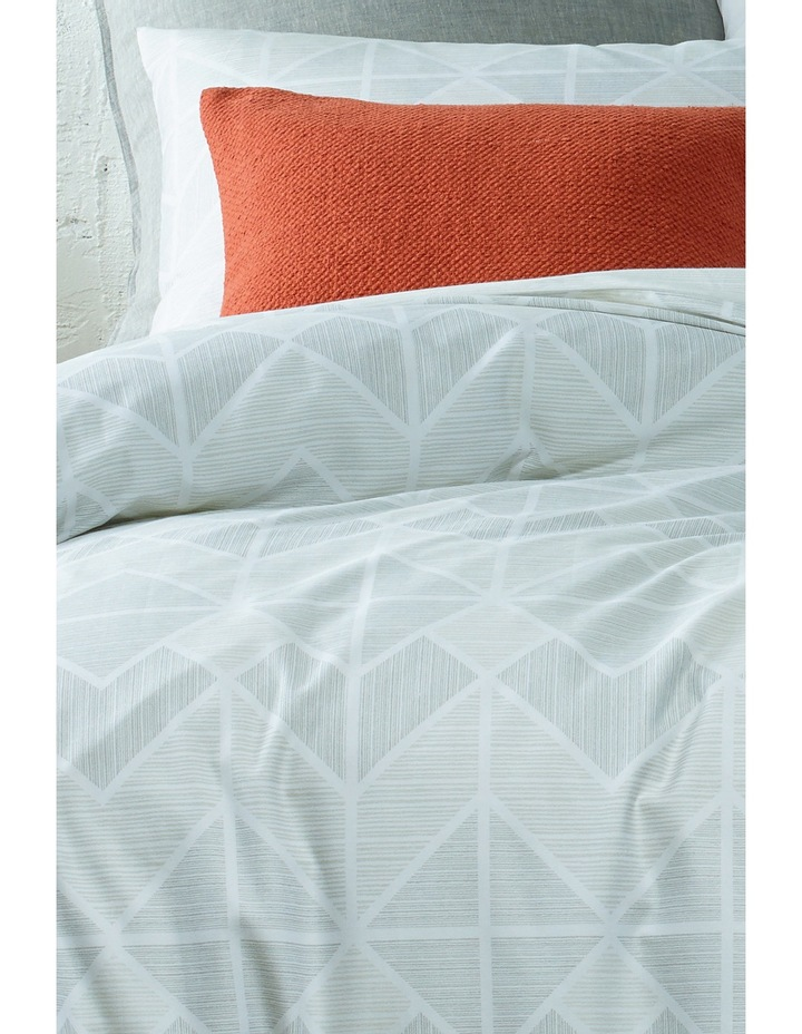 Tucson Quilt Cover Range in Grey image 2