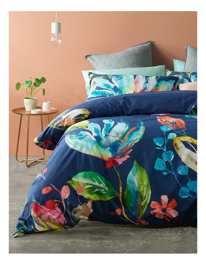 Costa Rica Floral Quilt Cover Set in Multi image 1
