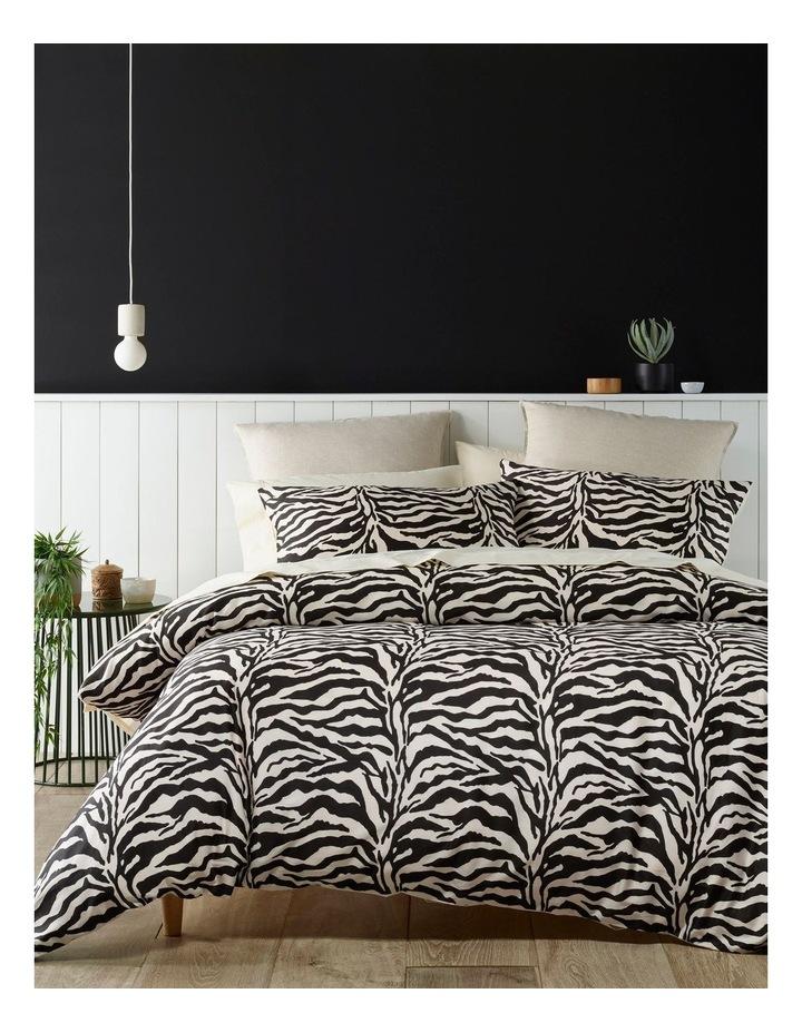 Burundi Zebra Quilt Cover Set image 1