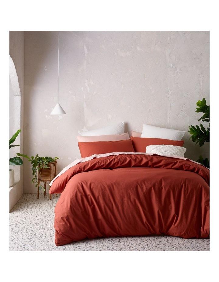 250TC Organic Stonewashed Cotton Quilt Cover Set image 1