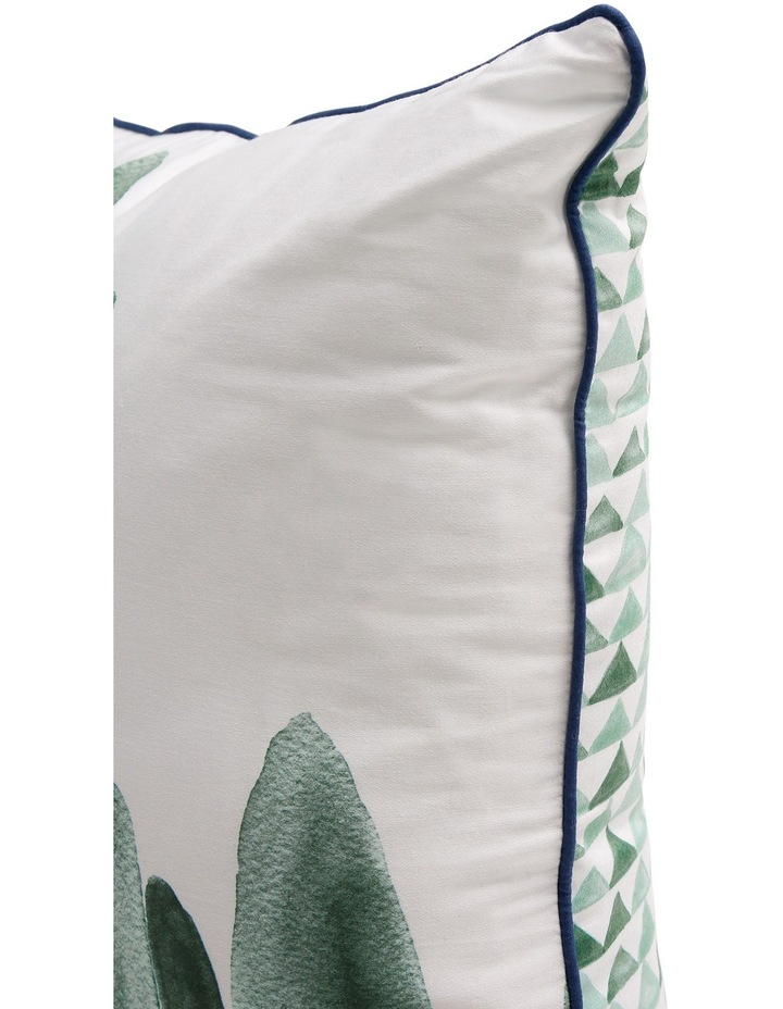 San Carlos Bed Cushion in White / Multi image 3