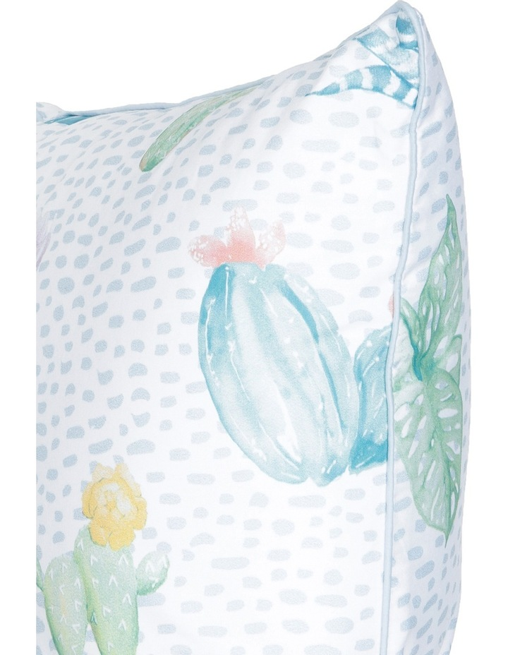 Agave Cactus Cotton Sateen Cushion in Multi image 2