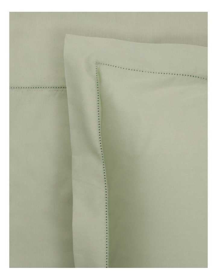 400TC Luxurious Egyptian Cotton Sateen Sheet Set in Sage image 1