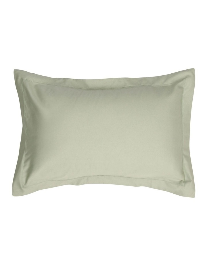 400TC Luxurious Egyptian Cotton Sateen Sheet Set in Sage image 2