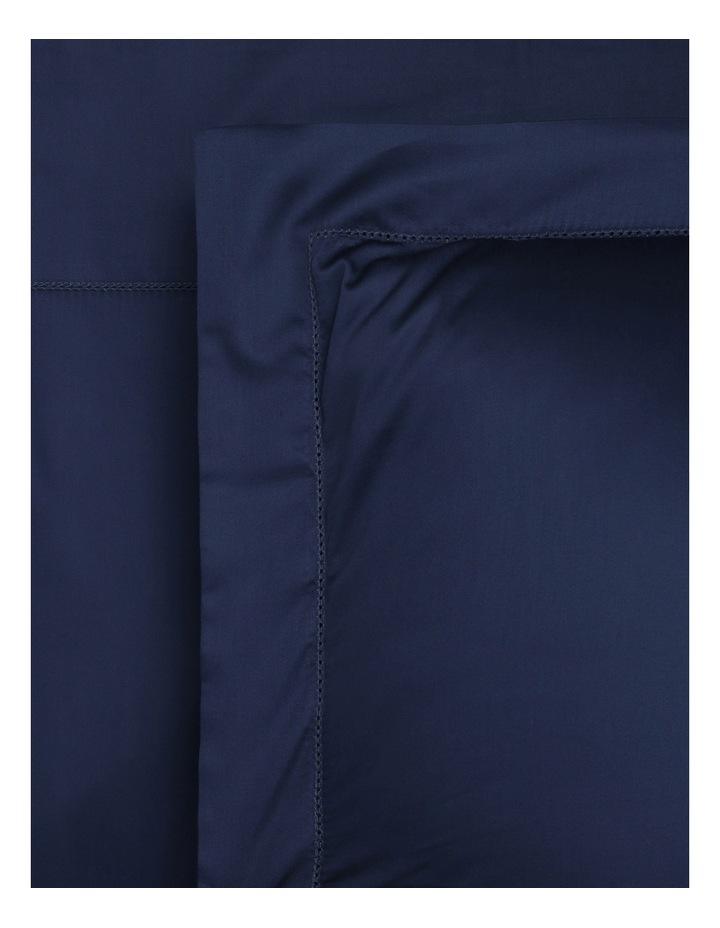 400TC Luxurious Egyptian Cotton Sateen Sheet Set in Navy image 1