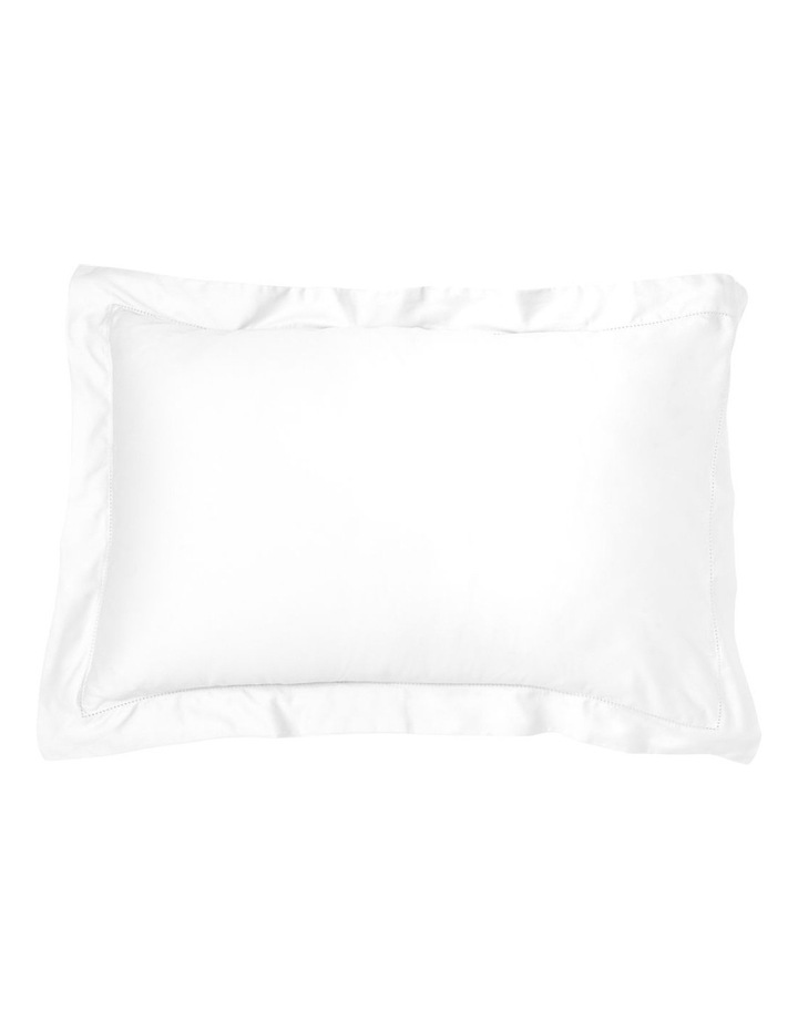 400TC Luxurious Egyptian Cotton Sateen Fitted Sheets in White image 2