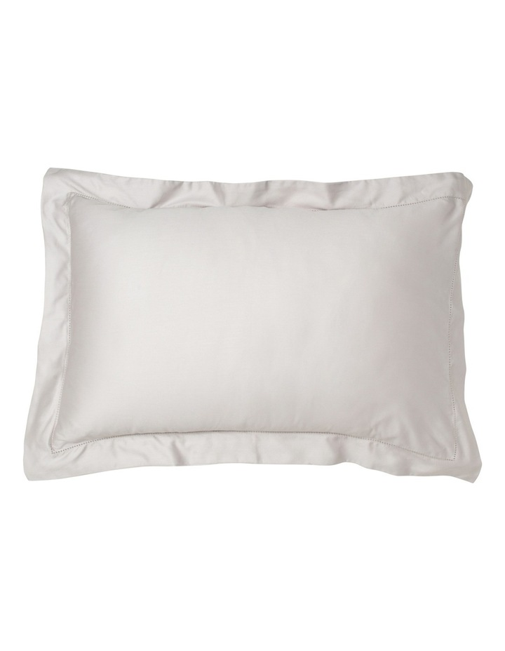 400TC Luxurious Egyptian Cotton Sateen Fitted Sheets in Oyster image 2