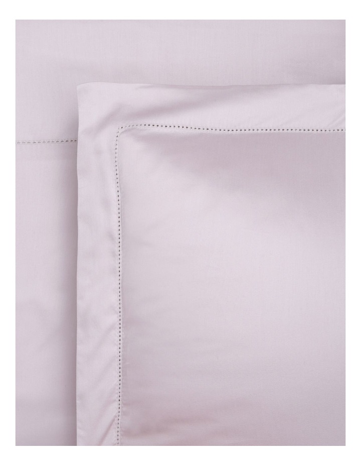 400TC Luxurious Egyptian Cotton Sateen Fitted Sheets in Blush image 1