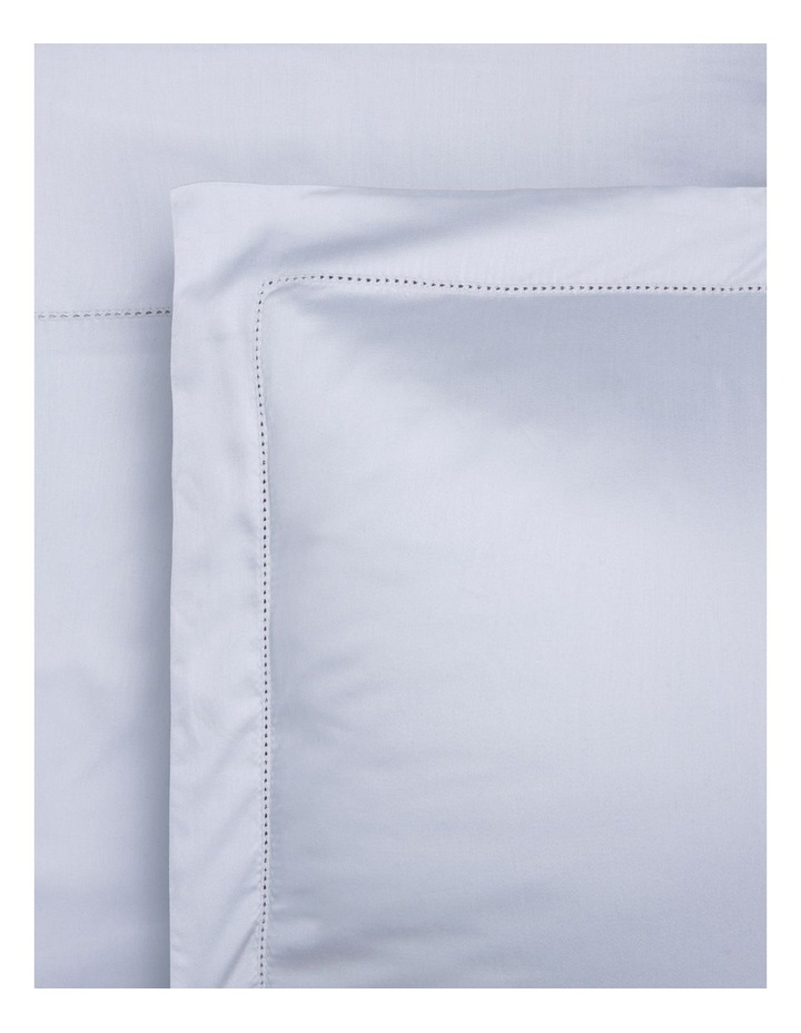 400TC Luxurious Egyptian Cotton Sateen Fitted Sheets in Caribbean Mist image 1