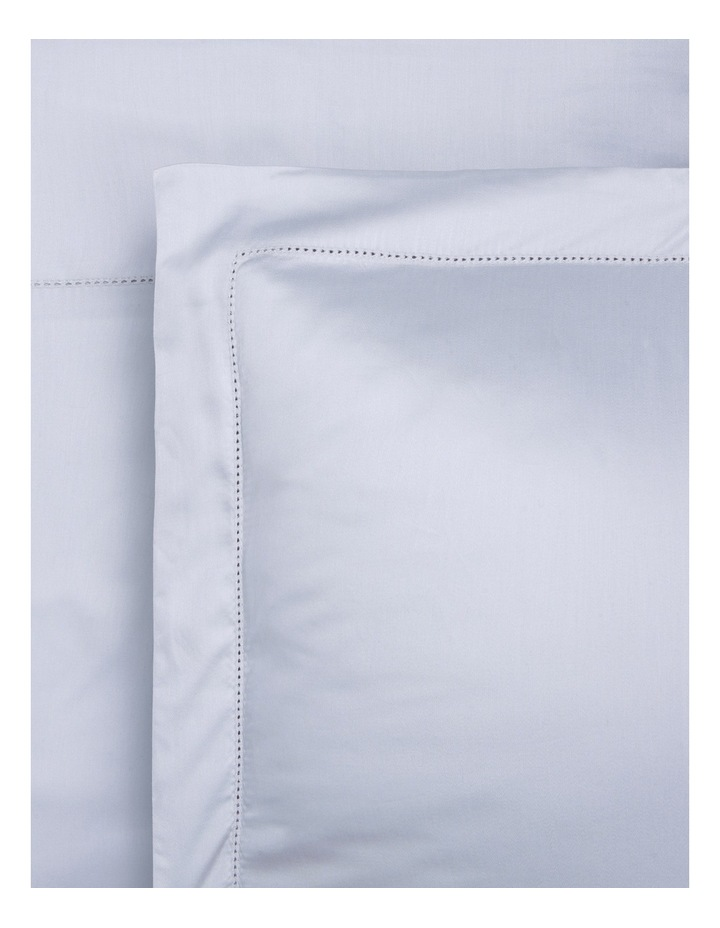 400TC Luxurious Egyptian Cotton Sateen Fitted Sheets in Carribean Mist image 1