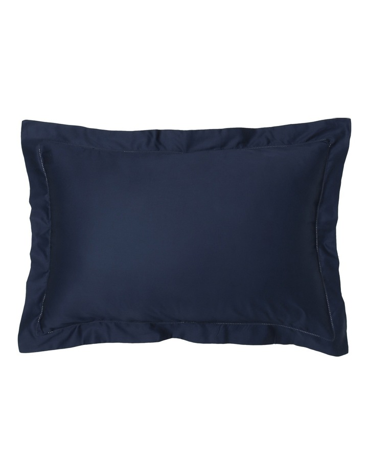 400TC Luxurious Egyptian Cotton Sateen Fitted Sheets in Navy image 2