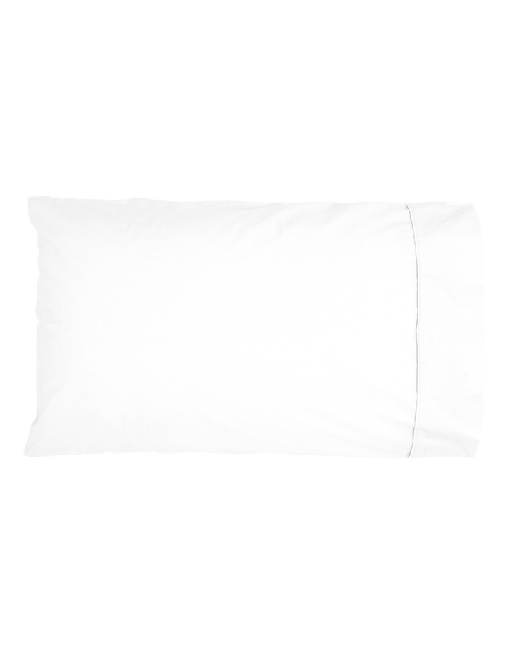 1000TC Finest Cotton Sheet Set in White  50cm Deep Depth image 2