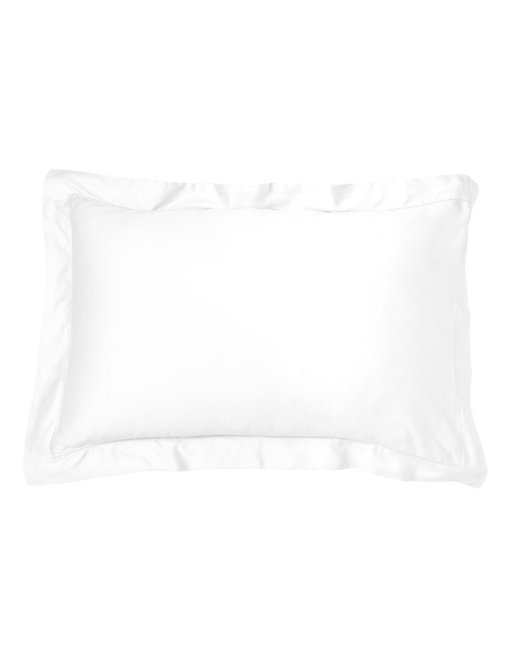 400TC Luxurious Egyptian Cotton Sateen Sheet Set in White  50cm Deep Depth image 2