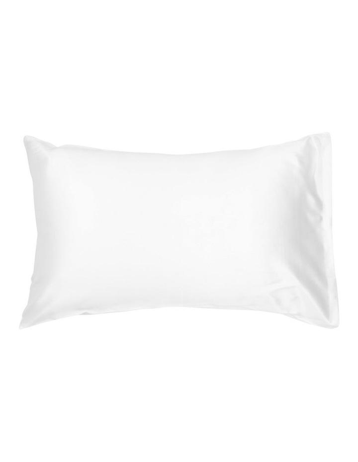 Silk Pillowcase in White image 1