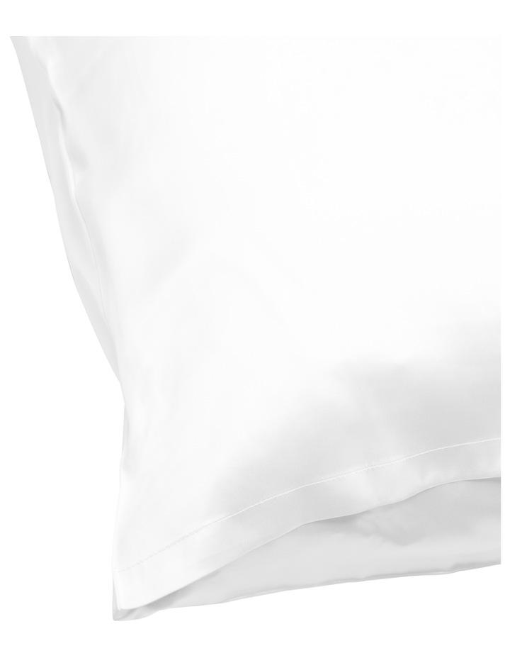 Silk Pillowcase in White image 2