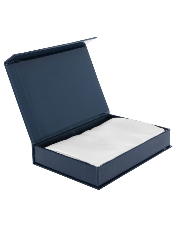 Silk Pillowcase in White image 8