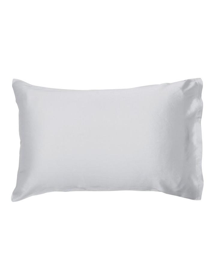Silk Pillowcase in Silver image 1