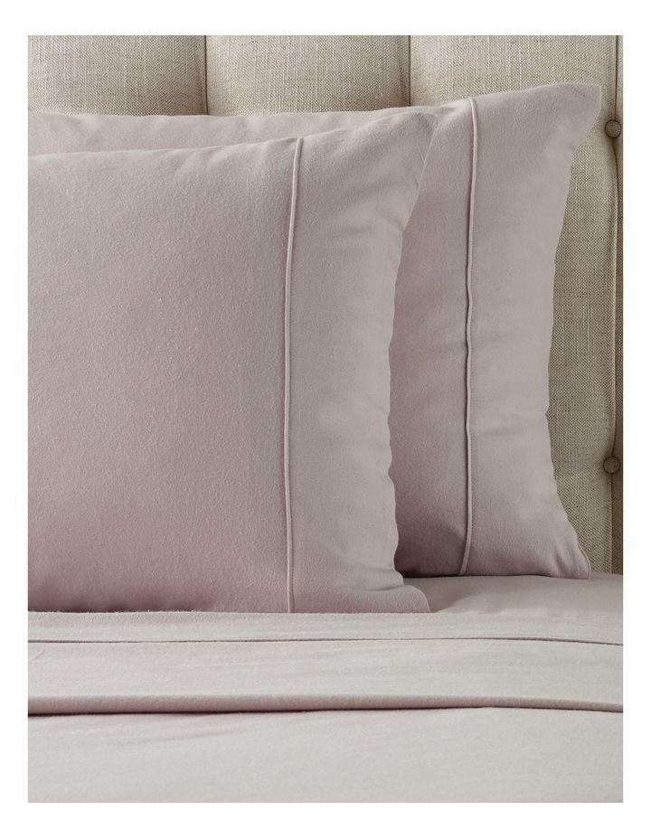 Plain Dye Flannelette Turkish Cotton Sheet Set in Pink image 2