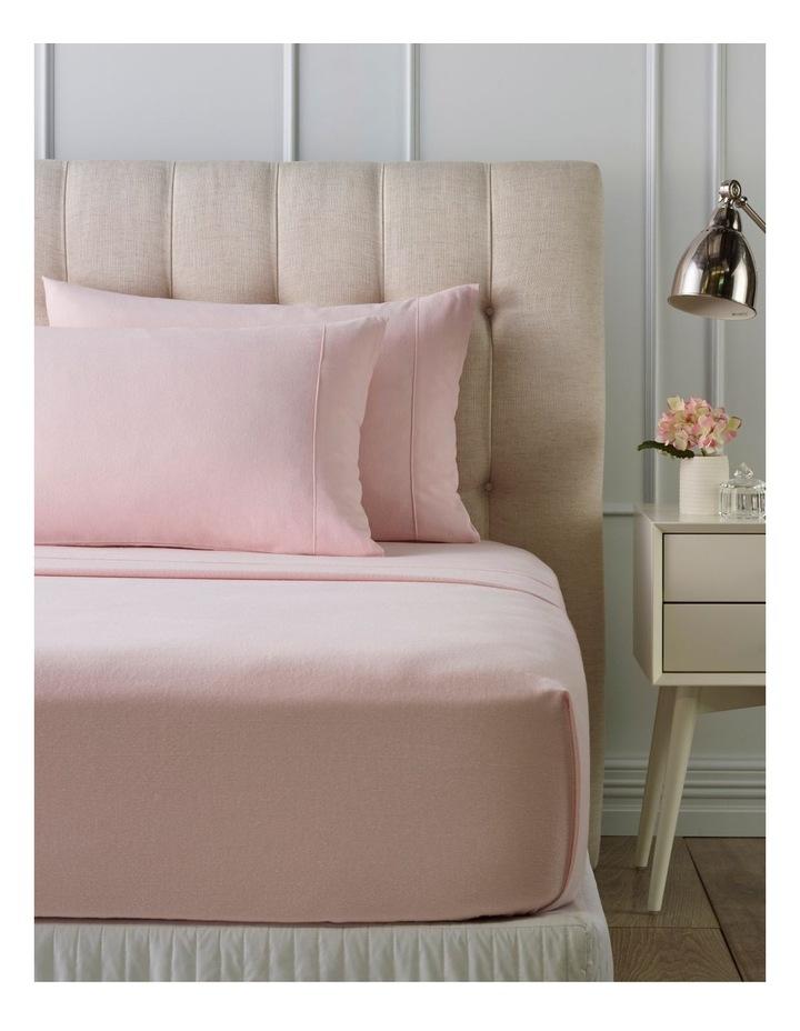 Turkish Plain Dye Flannelette Sheet Sets in Pink image 1