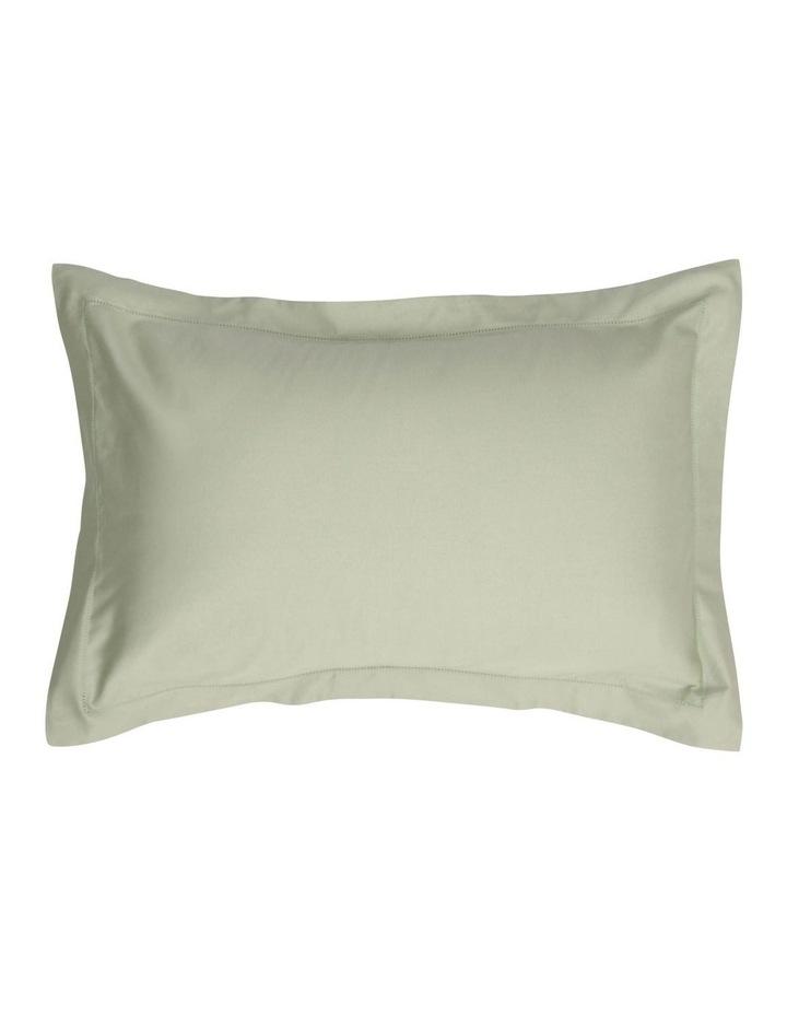 400TC Luxurious Egyptian Cotton Sateen Sheet Set in Sage image 2