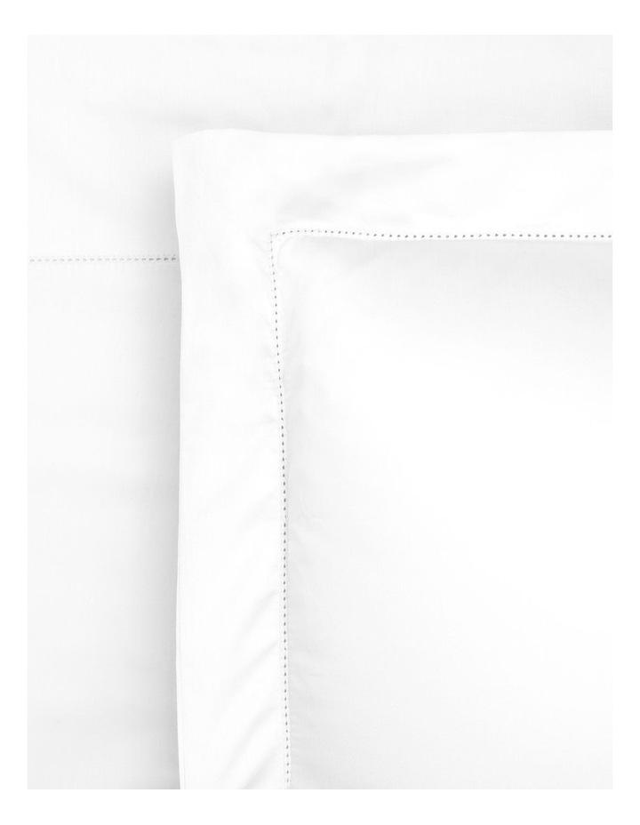 400TC Luxurious Egyptian Cotton Sateen Sheet Set in White image 1