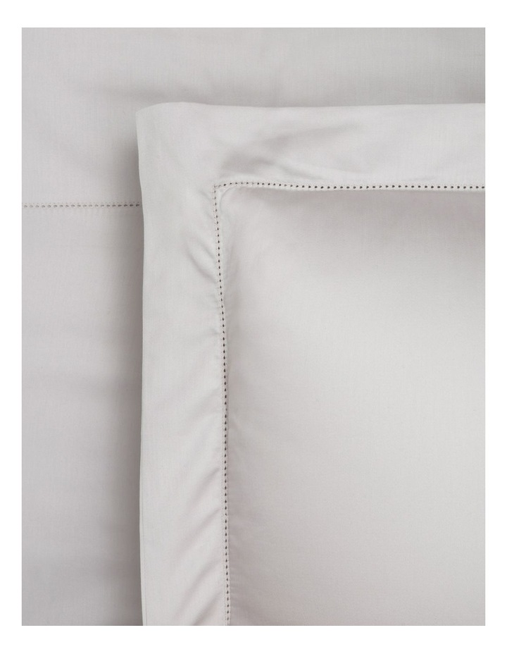 400TC Luxurious Egyptian Cotton Sateen 50cm Depth Sheet Set in Oyster image 1
