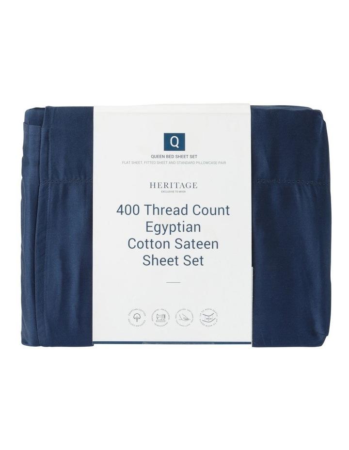 400TC Luxurious Egyptian Cotton Sateen Sheets image 3