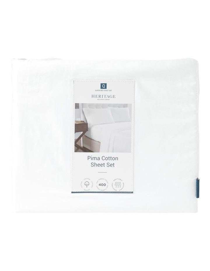 Pima Cotton 400TC Sheet Set image 3