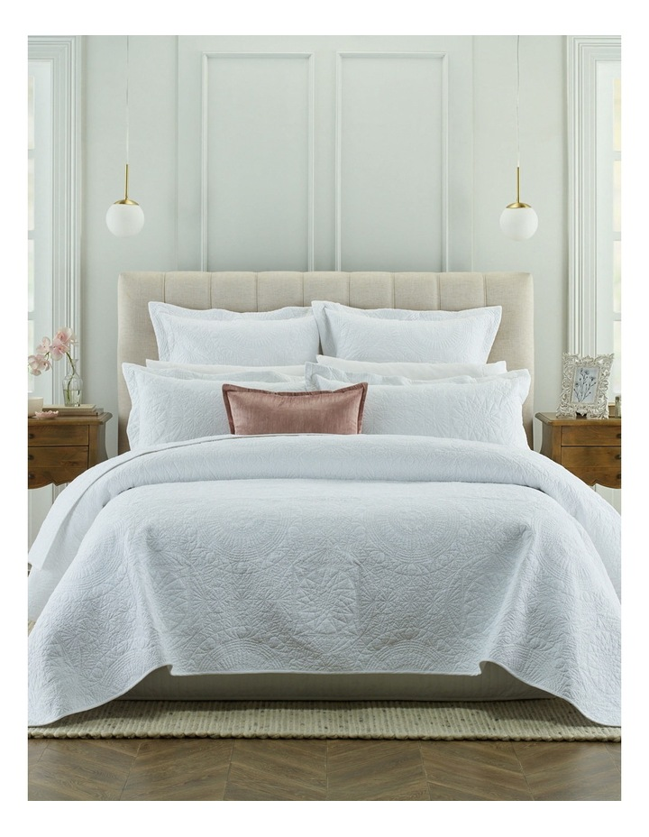 Isabelle Coverlet in White image 1