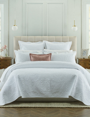 Heritage - Isabelle Coverlet in White