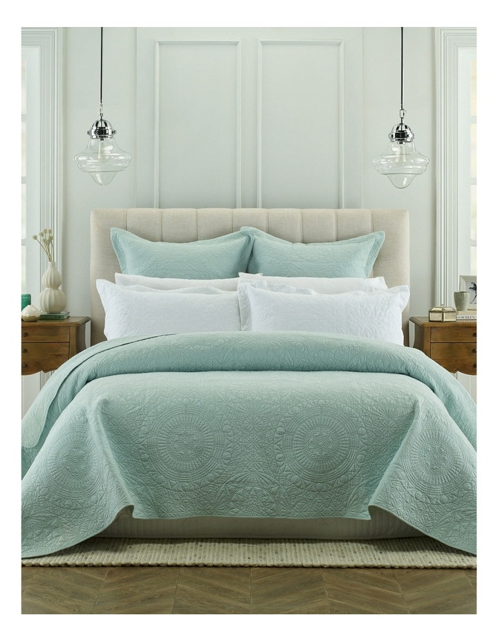 Isabelle Coverlet in Green image 1