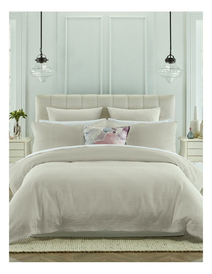 Eleonore Quilt Cover Set in White image 1