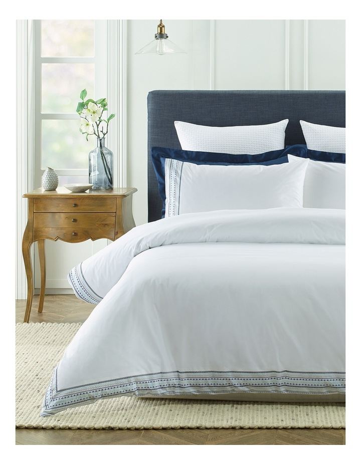 Saint - Marie Embroidered Quilt Cover Sets image 1