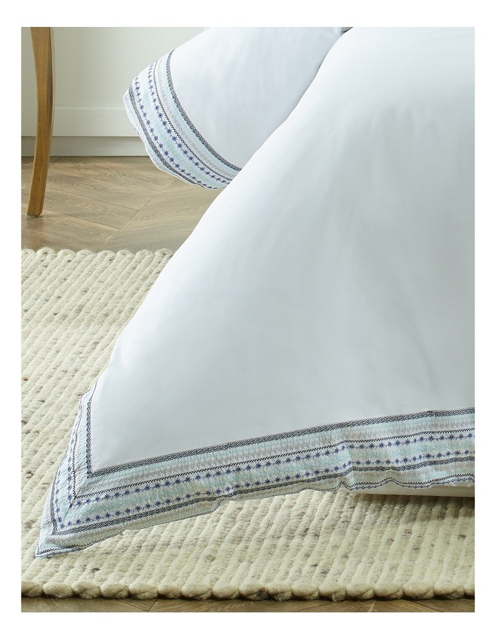 Saint - Marie Embroidered Quilt Cover Sets image 2
