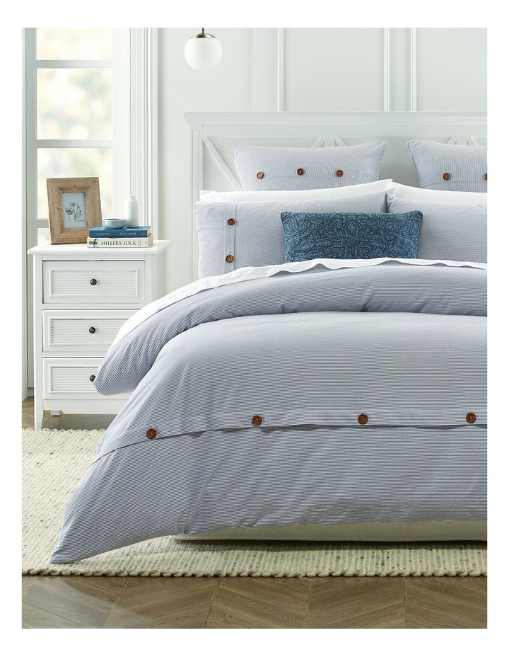 147dc97d3e Heritage | Piana Seersucker Quilt Cover Set In Cream | MYER