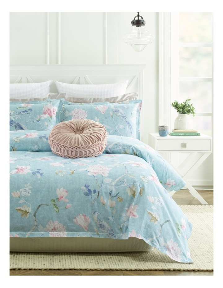Amiens Printed Quilt Cover Set in Multi image 1