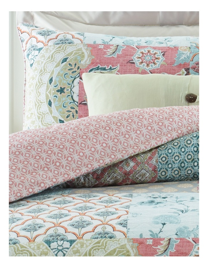 Eze Quilted Cotton Quilt Cover Set image 2