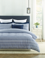 Heritage - Rochefort Yarn Dyed Stripe Quilt Cover Set