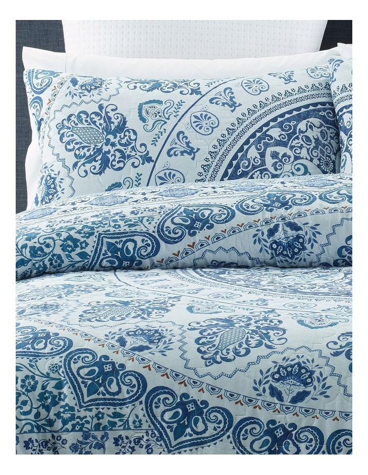 Selva Quilted Quilt Cover Set in Multi image 2