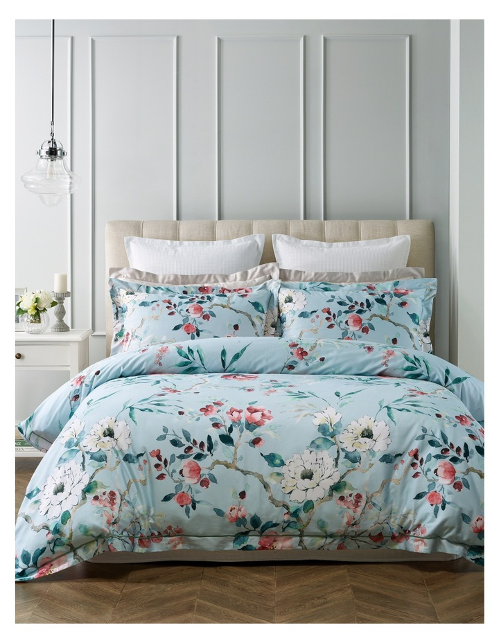 Clairvaux Cotton Quilt Cover Set in Multi image 1